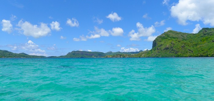 Excursion sur le lagon de Huahine