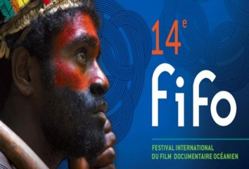 Affiche de la quatorzième édition du FIFO film international du film documentaire océanien