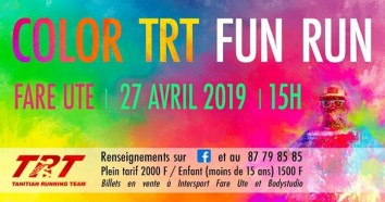 Affiche Color Fun Run 2019 – 6ème édition